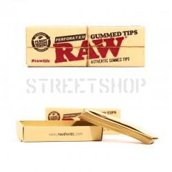 Cartons Raw Gummed perforés