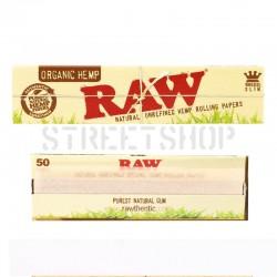 Feuilles Raw Organic King Size