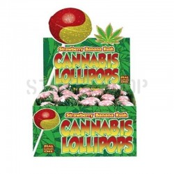 Sucette Cannabis Strawberry...