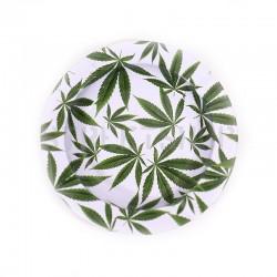 Cendrier green leaves