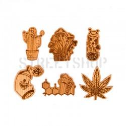 Stickers en bois - Decorganik