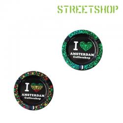 Cendrier I Love Amsterdam...