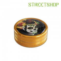 Grinder Mexican Skull 2 parties 50 mm