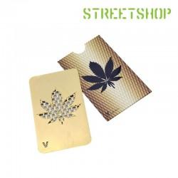 Grinder card Gold Leaf