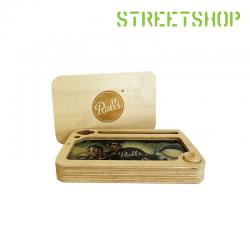 Boîte rangement en bois secret Rolls