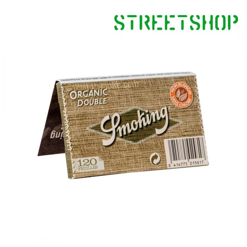 Feuilles Smoking Organic Double Non Blanchies