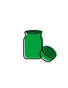 Bocaux de conservation pour fumeurs et Jar céramique en vente